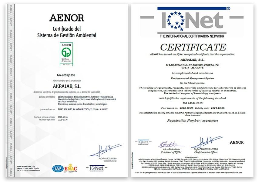 certificado-14001-akralab