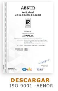 ISO-9001-AENOR-Akralab